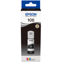 Tusz EPSON 106 EcoTank Photo Black (czarny) (C13T00R140)