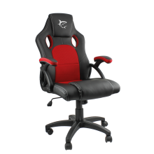Fotel White Shark GAMING KINGS THRONE Black/Red