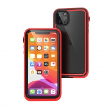 Catalyst Etui Waterproof iPhone 11 Pro Max czerwono-czarne